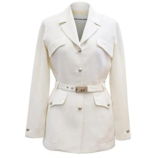 Mugler Cream Jacket