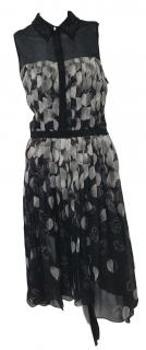 Jason Wu Floral Print Silk Dress