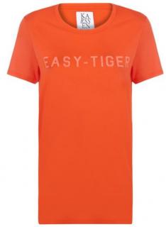 zoe karsseen orange T_Shirt