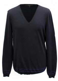 Gucci Men's Navy Blue Jumper