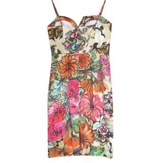 Milly multi print summer dress