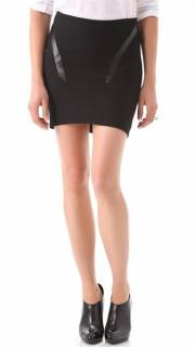 Helmut Lang Pixel Suiting Skirt