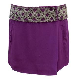 Isabel Marant Purple Skirt