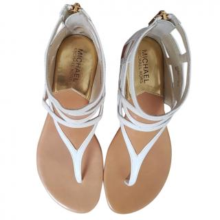 Michael Michael Kors White sandals