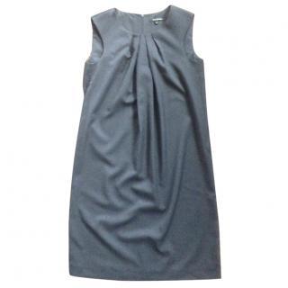 Tara Jarmon Grey knee-length office dress