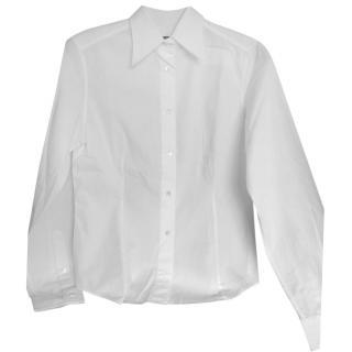 Dolce &Gabbana white cotton shirt