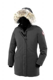 Canada Goose 'Victoria' Parka in Graphite Grey, Small