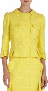 Nina Ricci Matching Yellow Jacket & Skirt