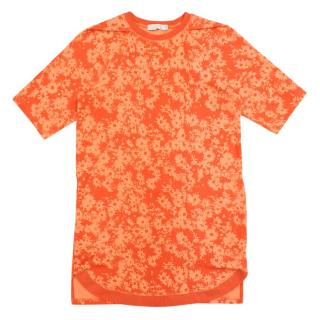 Stella McCartney kids orange pattern tunic