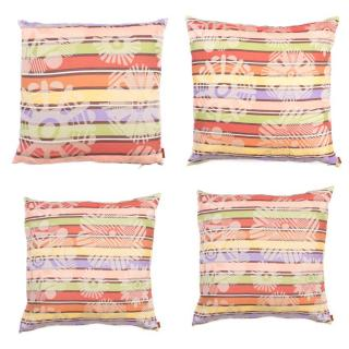 Missoni Home Set of 4 Multicolor Pillows