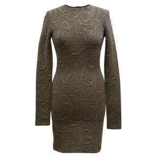 Kimberly Ovitz Olive Pattern Dress