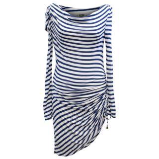 Alice by Temperley Striped Long Sleeve Dress