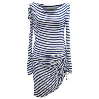 Alice by Temperley Striped Long Sleeve Dress
