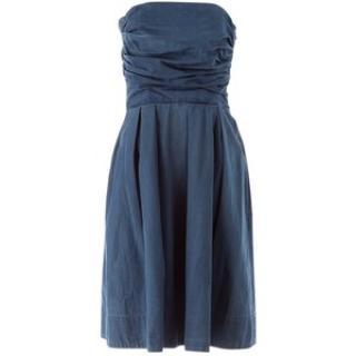 Acne bounce denim dress