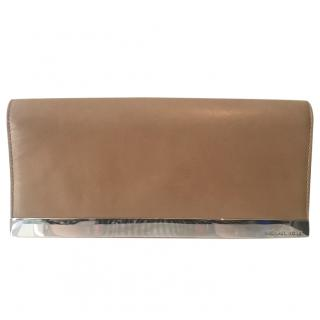 Michael Kors Nude Clutch Bag