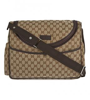 Gucci Supreme baby changing bag