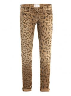 Current Elliott Leopard Jeans