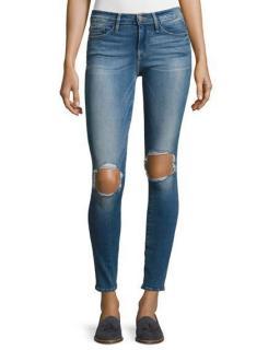 Frame :e Skinny de Jeanne raw jeans