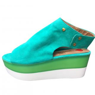 Love Moschino Wedge sandals