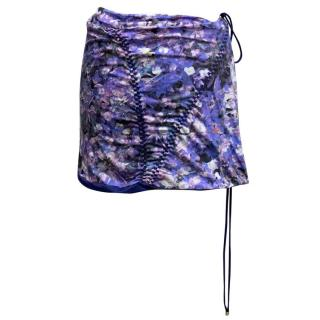 Roberto Cavalli Beachwear Multicolor Wrap Skirt