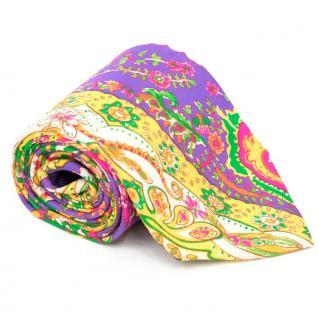 Ralph Lauren Multicolor Paisley Tie