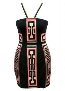 Sass & Bide Black Pattern Dress