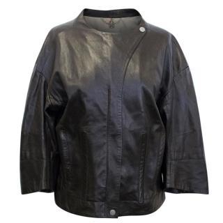 Celine Brown Leather Jacket