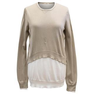 Celine Beige/Cream jumper