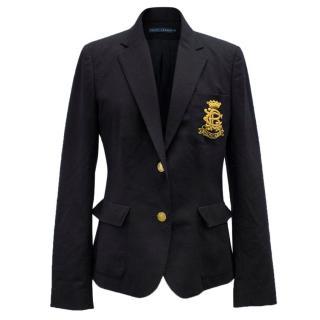 Ralph Lauren Navy Blue Blazer