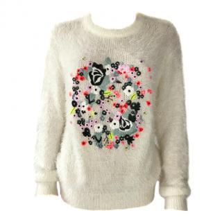 Erdem Mohair Embroidered Jumper