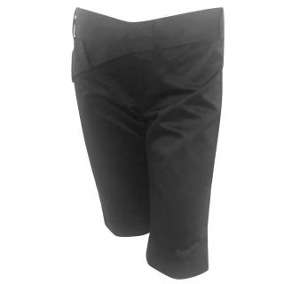 Roland Mouret Black Shorts