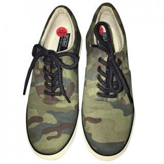 Ralph Lauren Camouflage trainers