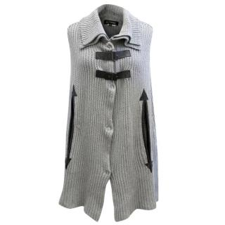 K-Yen Grey Sleeveless Knit Jumper