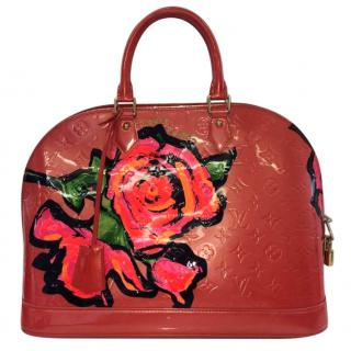 LOUIS VUITTON ROSES ALMA GM