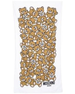 Moschino Bear Print Beach Towel