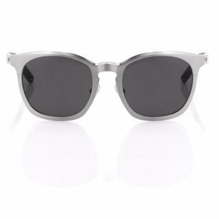 Alexander Wang Metal Curved Sunglasses