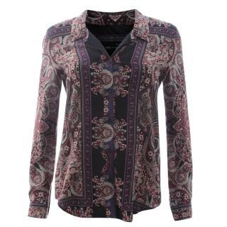 The Kooples Paisley-Print Shirt