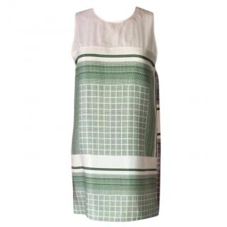Celine Printed Silk Mini Dress