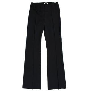 Altuzarra Black Wide-Leg Trousers