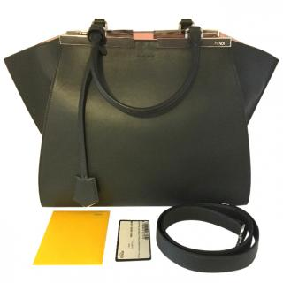 Fendi 3jours Leather Shopper Bag