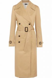 JOSEPH double-breasted cotton trench coat