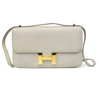 Hermes Constance Elan Light Stone Grey/Beige Shoulder/Cross Body Bag
