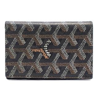 Goyard Black Small Leather Wallet