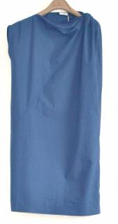 Brunello Cucinelli blue cotton dress