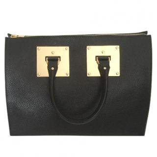 Sophie Hulme Black Tote Bag