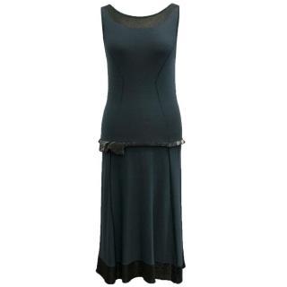 Anteprima Blue Drop Waist Dress