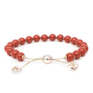 Gucci San Valentino Red Boule Bracelet