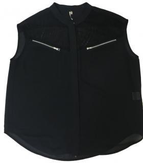 IRO Black Sleeveless Top