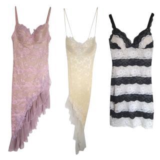 Catwalk collection London Cream Lace Dress Dresses