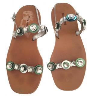 Miu Miu Summer Sandals